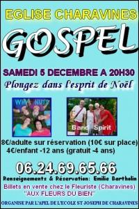 affiche gospel 2015