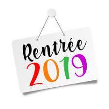 """Résultat de recherche d'images pour """"IMAGE rentrée 2019"""""""